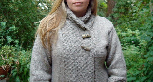 Emma's Drops Jacket in Eco Wool